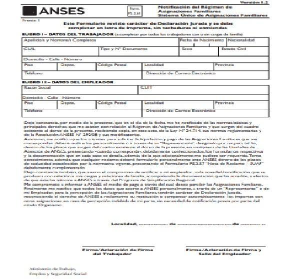 Cuál es el formulario que necesito