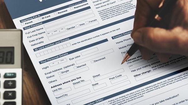 Llenando formulario