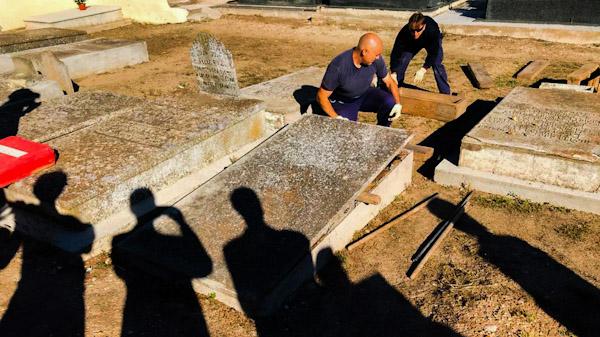 inicio de exhumación