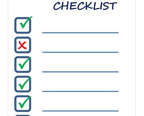 Requisitos para afiliarse a un sindicato checklist