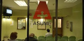 Certificado de ASUME