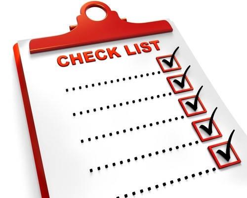 checklist requisitos para seccion 8