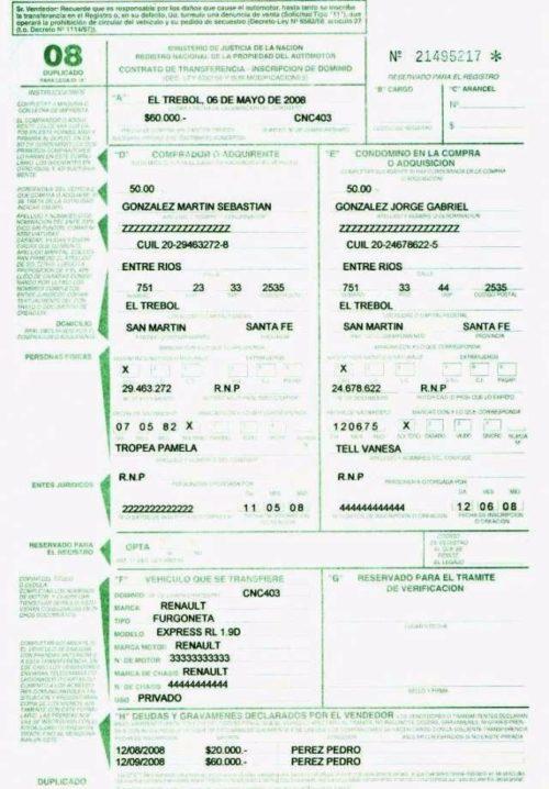formulario 8