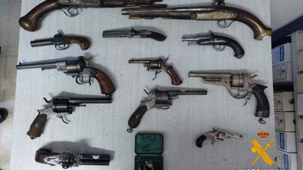tenencia de armas de fuego