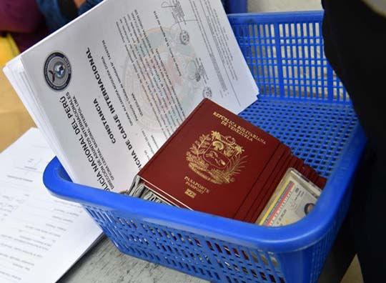 cita visa peruana