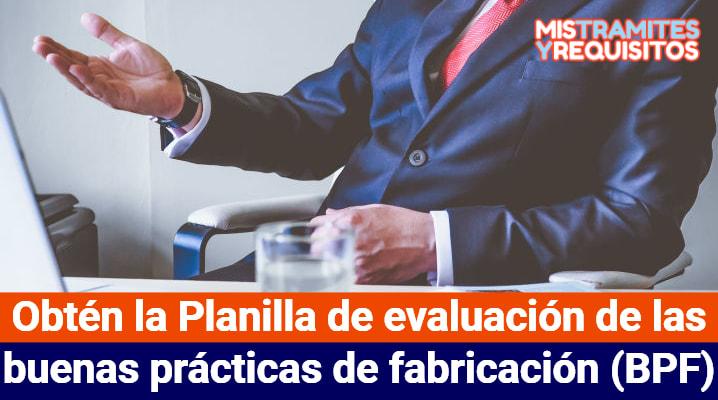 buenas prácticas de fabricación (BPF)