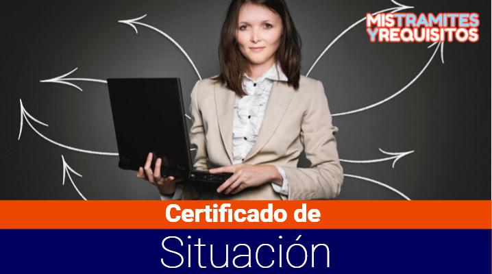 Certificado de Situación