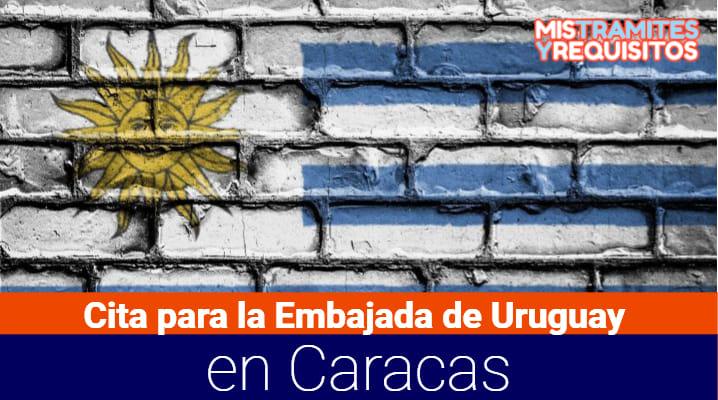 Cita para la Embajada de Uruguay en Caracas