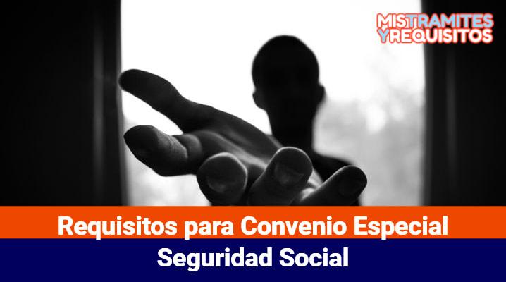 Descubre los Requisitos para Convenio Especial con la Seguridad Social