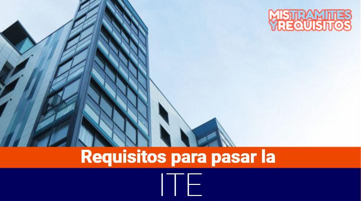 Requisitos para pasar la ITE