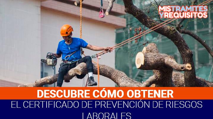 Descubre como obtener un Certificado de Prevención de Riesgos Laborales