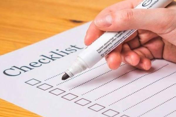Certificado Actic checklist