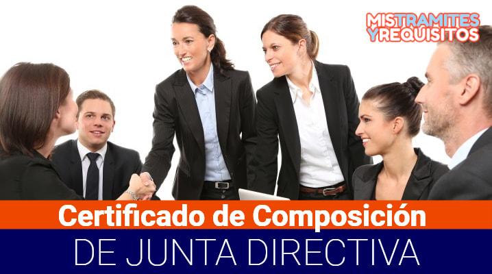 Conoce como obtener un Certificado Composición Junta Directiva