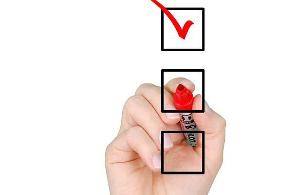Certificado DARDE checklist