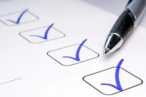 Certificado Servicio Militar para Jubilación checklist