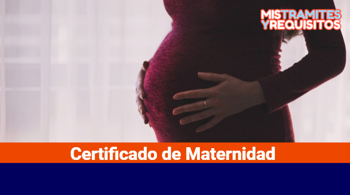 Certificado de Maternidad