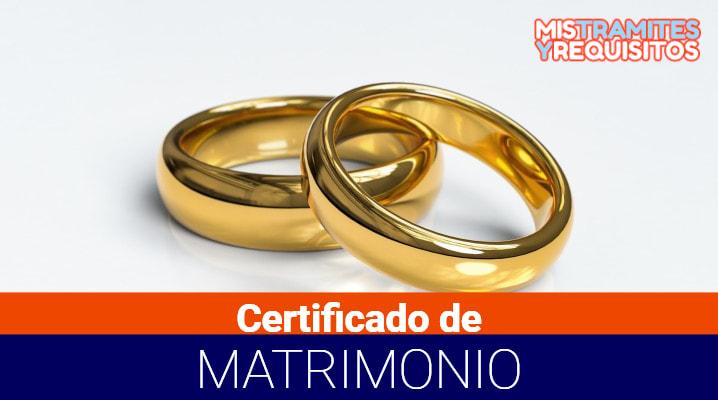 Conoce como obtener un Certificado de Matrimonio