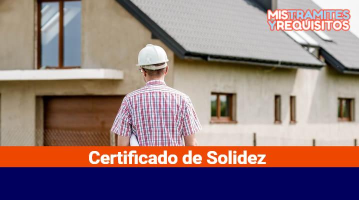 Certificado de Solidez