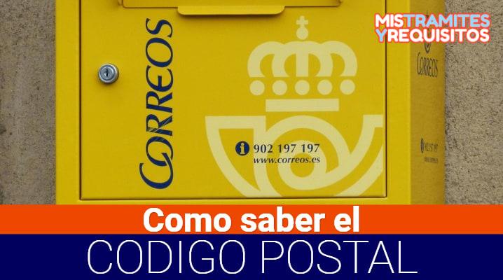 Descubre Como saber el Código Postal de España