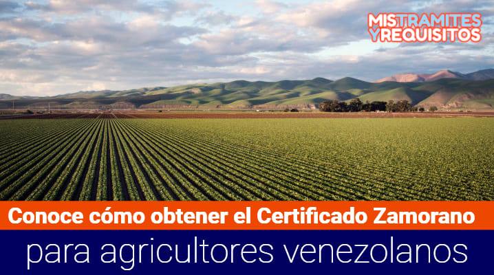 Certificado Zamorano