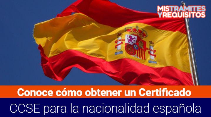 Certificado CCSE