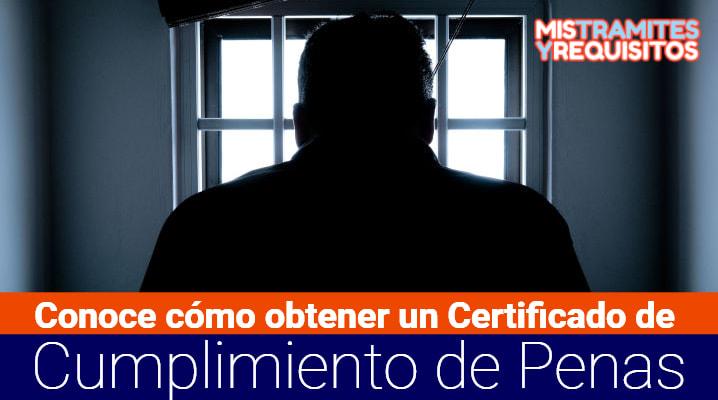 Certificado de Cumplimiento de Penas