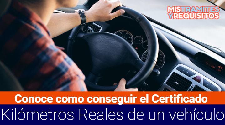 Certificado Kilómetros Reales