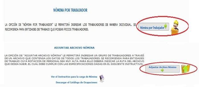 Certificado de Declaración Trimestral y Condiciones Laborales de Trabajo