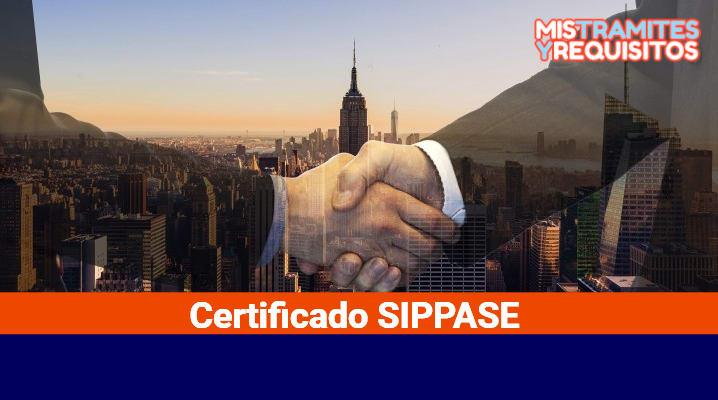 Certificado SIPPASE