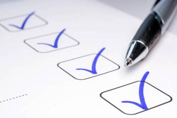 Certificado de Matrimonio Bolivia checklist