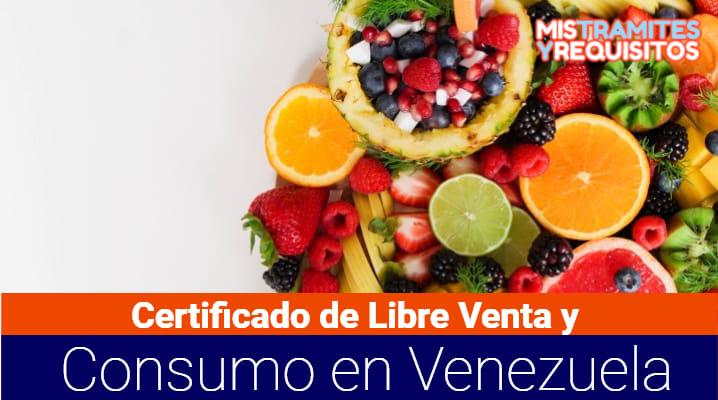 Certificado de Libre Venta