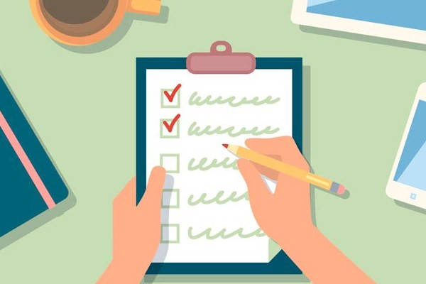 Certificado de Solvencia Fiscal checklist