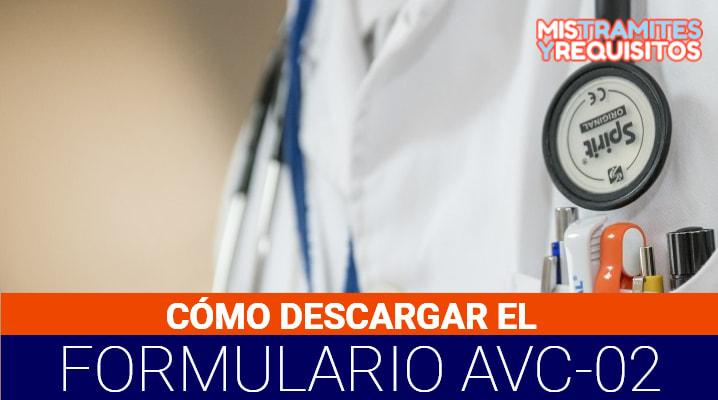 Formulario Avc-02 Vacío PDF