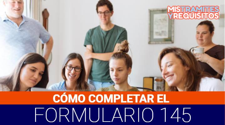 Formulario 145