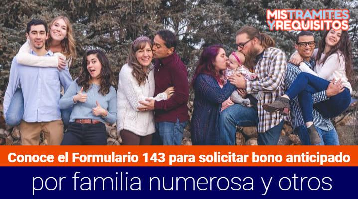 Formulario 143