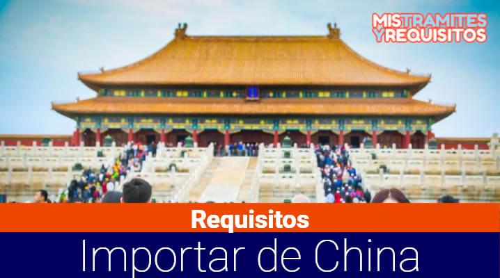 Conoce los Requisitos para importar de China a Bolivia