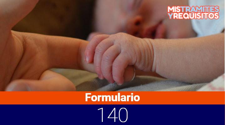 Formulario 140