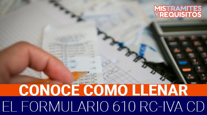 Formulario 610