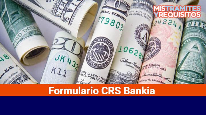 Formulario CRS Bankia