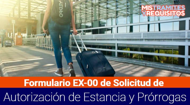 Formulario EX-00