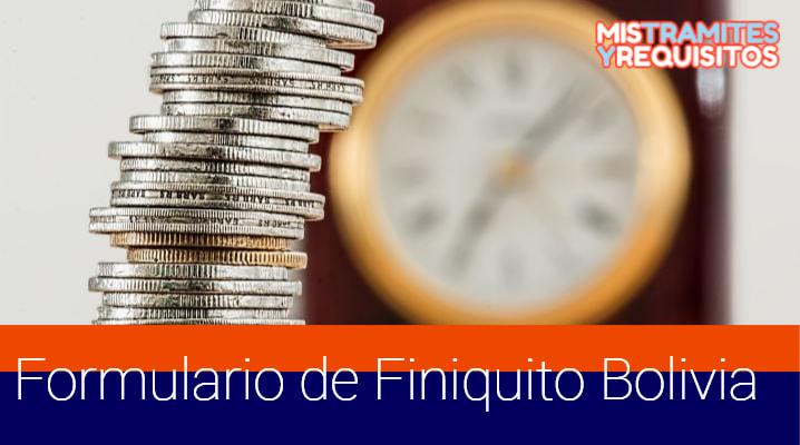 Descargar el Formulario de Finiquito Bolivia – Ministerio de Trabajo