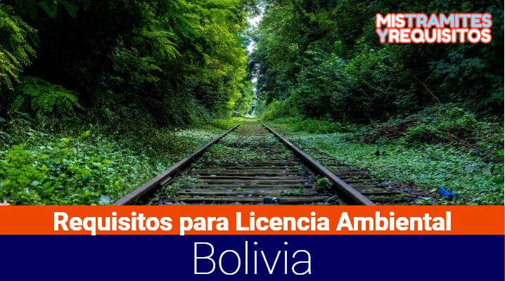 Requisitos para Licencia Ambiental Bolivia
