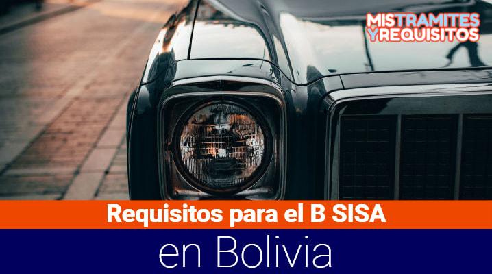 Conoce los Requisitos para el B SISA en Bolivia