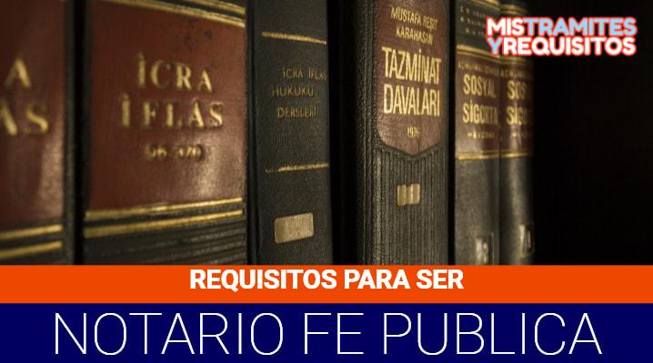 Conoce los Requisitos para ser Notario de Fe Pública en Bolivia