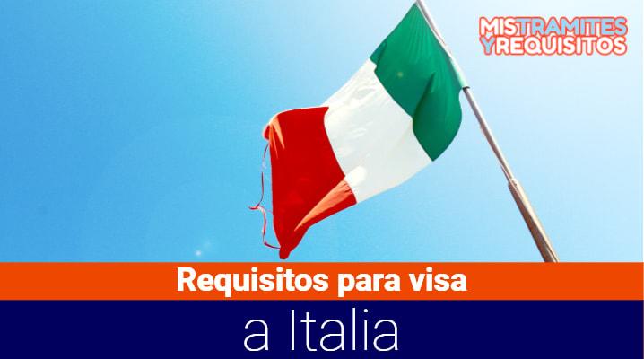 Requisitos para visa a Italia