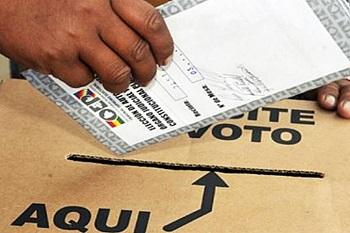 Votaciones en Bolivia