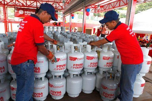 Centro de distribución de Bombona de gas PDVSA