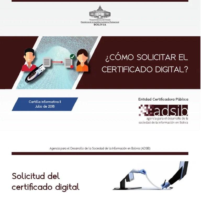 conoce como obtener un certificado digital ADSIB