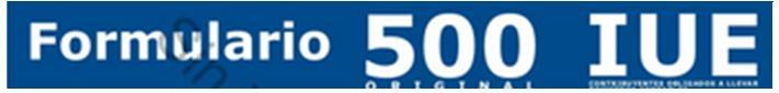 Formulario 500