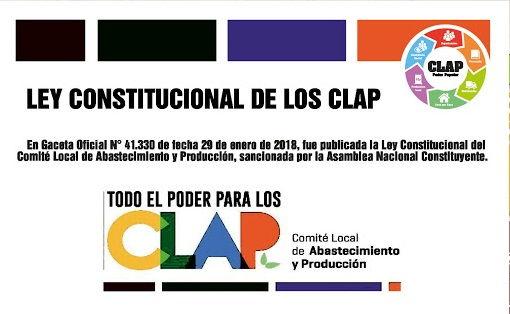 Ley Constitucional de los Comités Locales de Abastecimiento y Producción